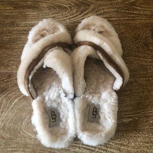 UGG Abela Chestnut Brown Slippers